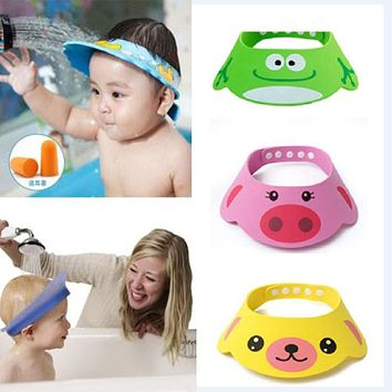 Cute Baby's Animal Shampoo Shower Cap