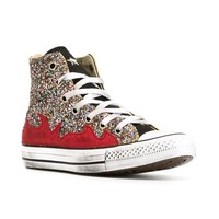 Converse Glittered 'chuck Taylor' Hi-top Sneakers - Excelsior Milano - Farfetch.com