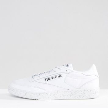 Reebok Club C 85 Ice Trainers In White BD1563 at asos.com