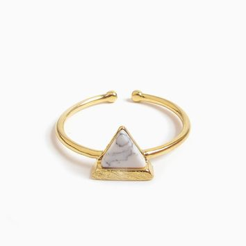 Tri Marble Ring