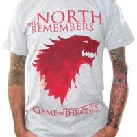 ROCKWORLDEAST - Game Of Thrones, T-Shirt, The North Remembers