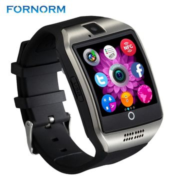FORNORM Q18 Bluetooth Multifunctional Smart Watch Wireless Bracelet Support SIM TF Card Message Remind/Anti-lost Wrist  For An