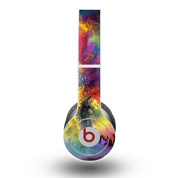 The Mixed Neon Paint Skin for the Beats by Dre Original Solo-Solo HD Headphones