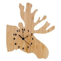 Trend Lab Northwoods Moose Wall Clock (Pink)
