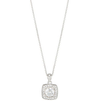 Nadri Pendant Rhinestone Necklace