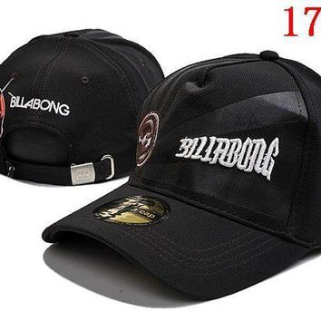 CREYCG8 BILLABONG  embroidery Strap Cap Adjustable Golf Snapback Baseball Hat