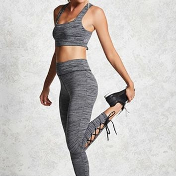 Active Lace-Up Leggings