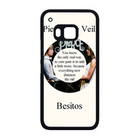 Pierce The Veil Song Lyrics Band HTC One M9 Case