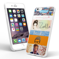 inspired all youtubers jackgap springkle glitter zoela sugg   pointless blog marcus butler tv joey graceffa if00 iPhone and Samsung Galaxy Case