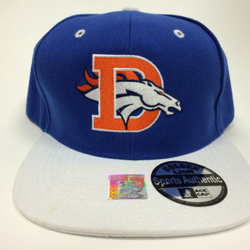 Broncos Old and New emblem logo Hat/Cap Snapback Colorado Denver