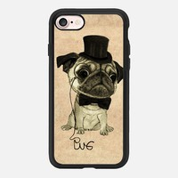 Pug; gentle pug iPhone 7 Case by Barruf | Casetify