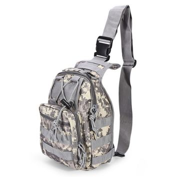 Outlife 600D 2P Military-Style Molle Shoulder Backpack