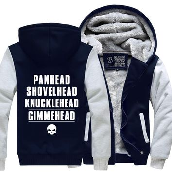 Harley Davidson, Satirical Fleece Jacket