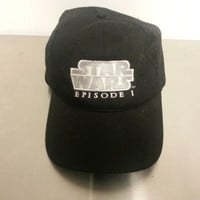 Vintage Star Wars Episode 1 Phantoms Menace Hat Baseball Cap Adjustable Dad Hat