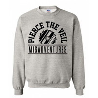 Pierce The Veil Men's  Misadventures Sweatshirt Heather