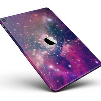 """Vibrant Sparkly Pink Space Full Body Skin for the iPad Pro (12.9"""" or 9.7"""" available)"""
