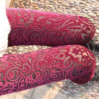 Burnt Out Leggings Pencil Legging Tights