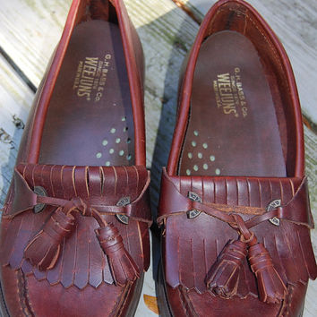 Like New Vintage G.H. Bass & Co. Weejuns Tasseled Classic Tailored Preppy Loafers Shoes Ladies Size 6.5