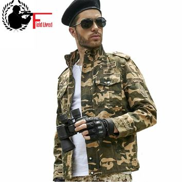 2016 M-3XL Style Military Jacket Men's Camouflage Jaqueta Camo Coat Combat Tactical Clothing Army green Gear us Uniform for Men