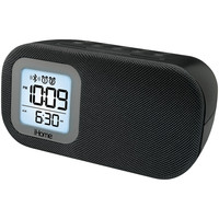 Ihome Bluetooth Bedside Dual Alarm Clock With Usb & Line-in