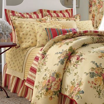 Chaps Home Dylan 3-pc. Duvet Cover Set (Yellow)