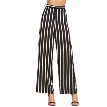 Loose Trousers Women Trousers Elegant Brand Womens