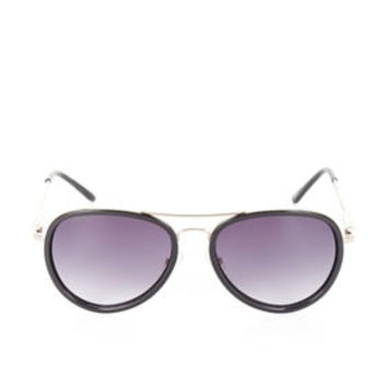 Black BCBG Combo Aviator Sunglasses