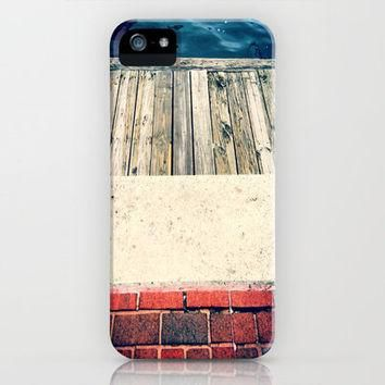 Red White and Blue City Textures iPhone Case by Jordan Virden | Society6