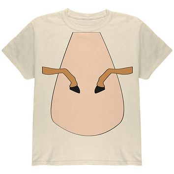 Halloween Horse Costume Palomino Tan Youth T Shirt