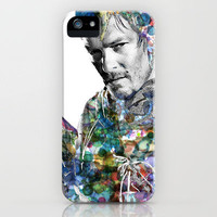 Daryl Dixon iPhone Case by NKlein Design