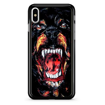 Givenchy Rottweiler Face iPhone X Case