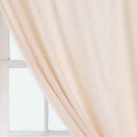 4040 Locust Raw Edge Curtain- Pink 50x84