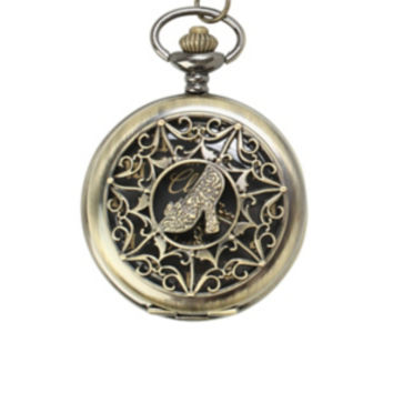 Disney Cinderella Pocket Watch Necklace