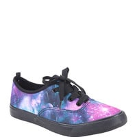 Galaxy Lace-Up Sneakers