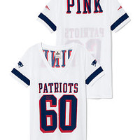 New England Patriots Sporty Athletic V-neck Tee - PINK - Victoria's Secret