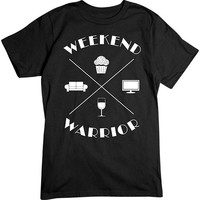 [Basic Tee] - Weekend Warrior White