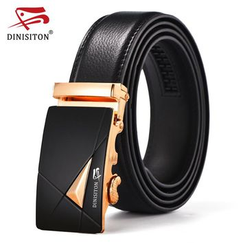Designer Belts For Men High Quality Metal Automatic Buckle