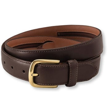 Men's Chino Belt with Money Zip: Belts   Free Shipping at L.L.Bean