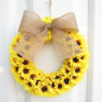Very Best Burlap Ribbon Wreath Products on Wanelo SH95
