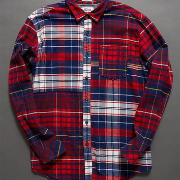 Tommy Hilfiger Plaid Flannel Long Sleeve Button Up Shirt at PacSun.com