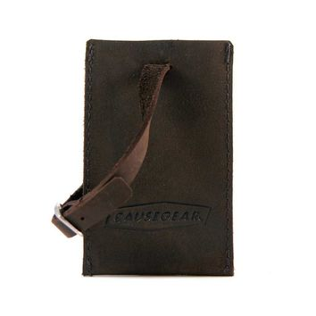 LUGGAGE TAG | Leather