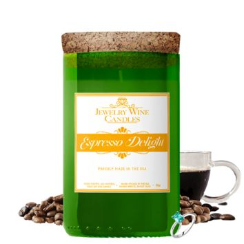 Espresso Delight | Jewelry Wine Candle®