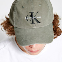 Calvin Klein Twill Reissue Strapback Dad Hat at PacSun.com