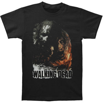Walking Dead Men's  God Forgive Us T-shirt Black Rockabilia