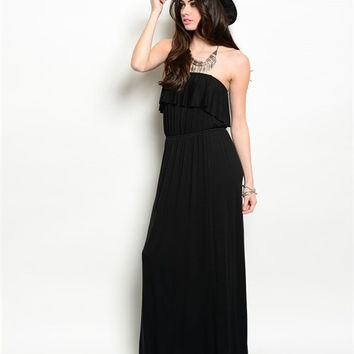 Ruffle Me Up Maxi Dress