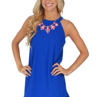 Ready Or Not Dress in Royal Blue | Monday Dress Boutique