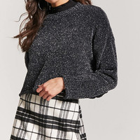 Plaid Woolen Mini Skirt