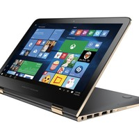 """HP - Spectre x360 2-in-1 13.3"""" Touch-Screen Laptop - Intel Core i7 - 8GB Memory - 256GB Solid State Drive - Ash Silver"""
