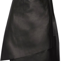 Acne Studios - Lakos leather wrap skirt