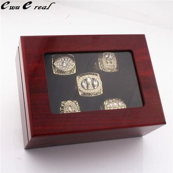 9 to 14 Size 1981 1984 1988 1989 1994 San Francisco 49ers World Series Champion Rings and High Quality Rings Wooden Boxes